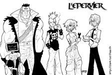 L'équipage de l'Epervier