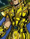 Les deux frères Chevliers D'or Aiolia du Lion et Aioros du Sagittaire de Saint Seiya