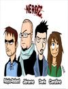 Les héros de la série Nerdz