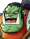 Un guerrier Orc